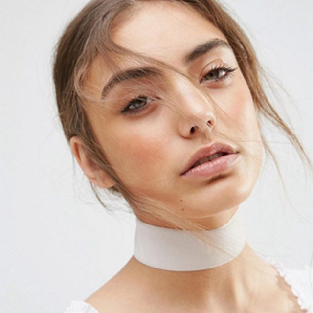 Trendy Punk Simple Choker