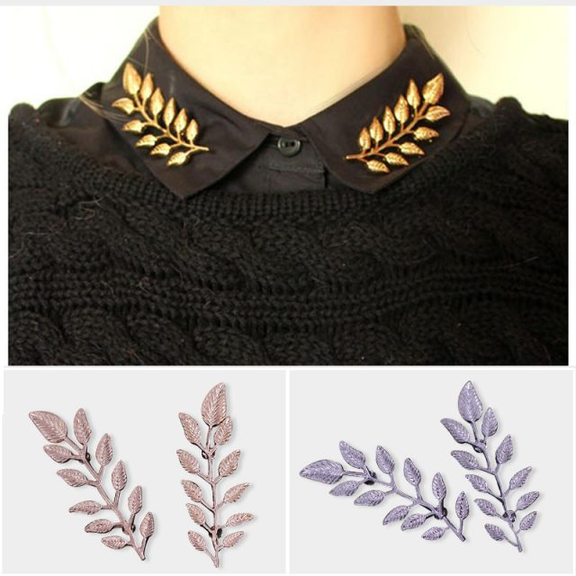 Leaf Pin Brooches For Women
