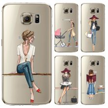 Fashion Doll Phone Cases for Samsung S5 / S6 / S7