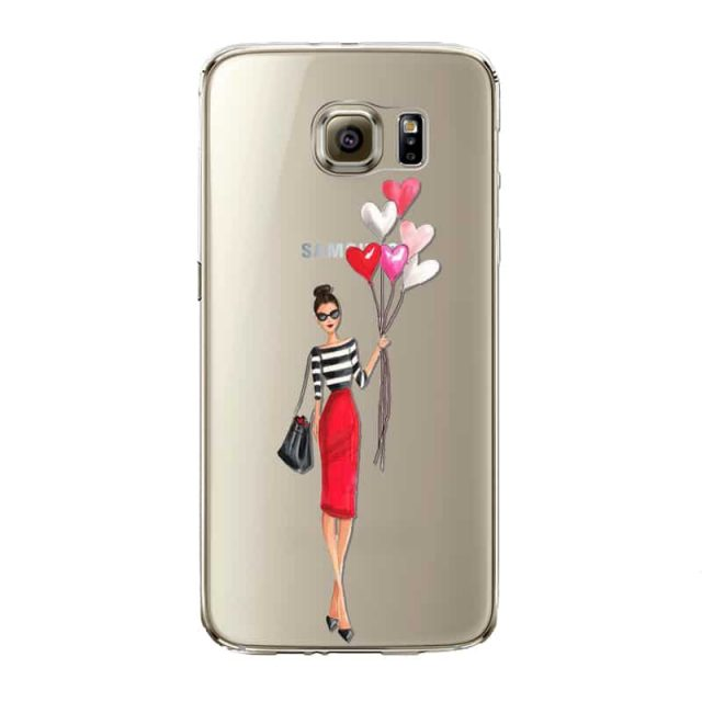 Stylish Dolls Phone Cases for Samsung S5 / S6 / S7