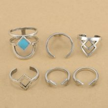 Bohemian Vintage Rings (6pcs/Pack )