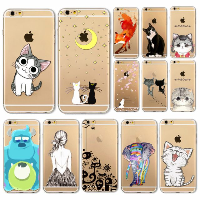 Beautiful Animal Phone Case For iPhone 4/5/6