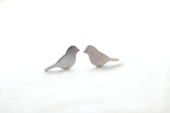 Small Bird Earrings