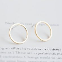 Simple Round Design Earrings
