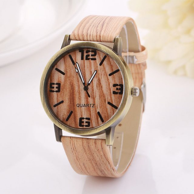 Wood Vintage Fashion Watch