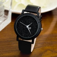 Starry Sky Leather Watch
