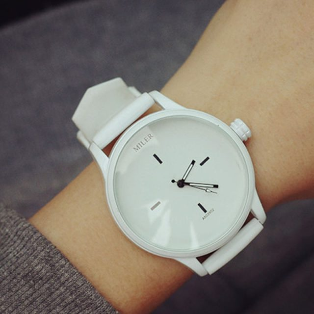 Classic Soft Silicone Watch For Women