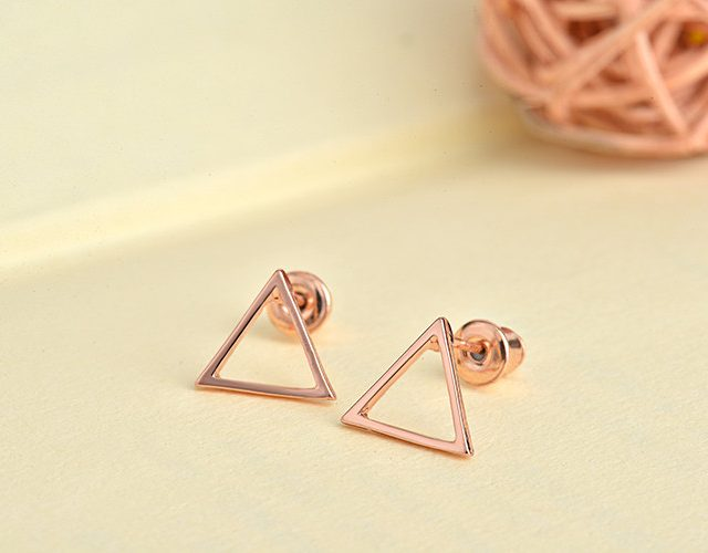 Women Fashion Triangle Earrings