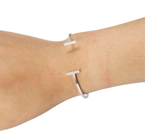 Double Open Bar Bracelet