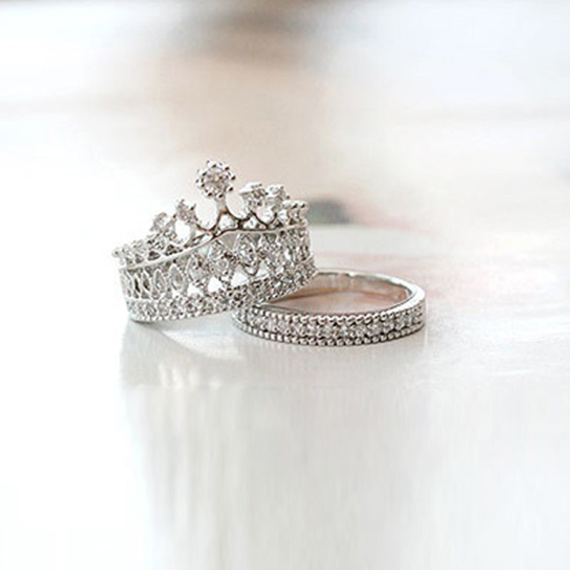 Crown Style Engagement Rings