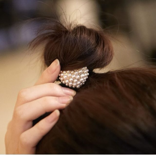 Retro Pearl Beads With Different Shapes –  Hair Clips for Women