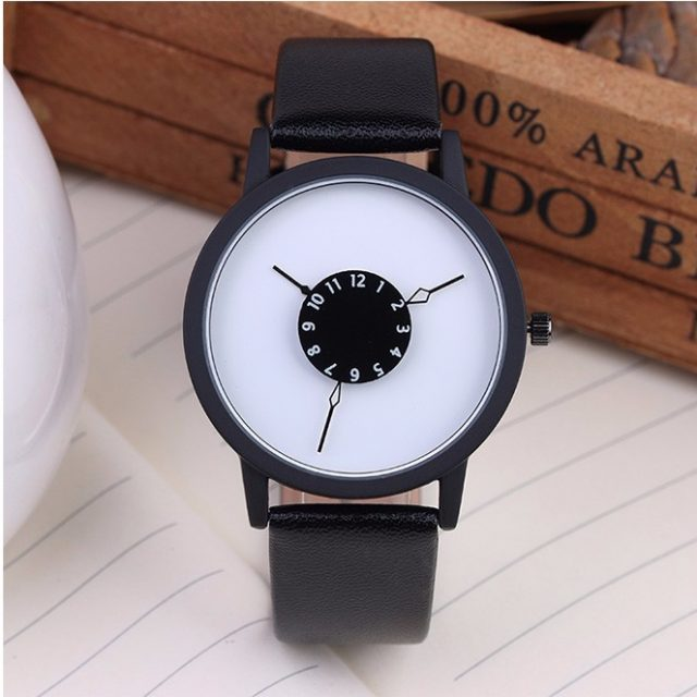 Watch With Unique Dial Design