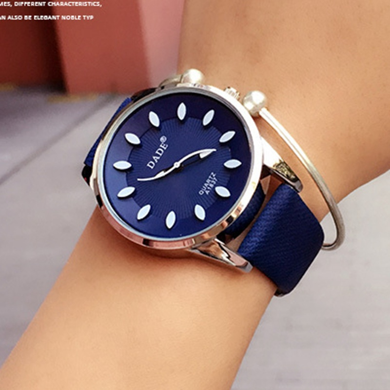 Dade leather bracelet watch for women for Watches for women