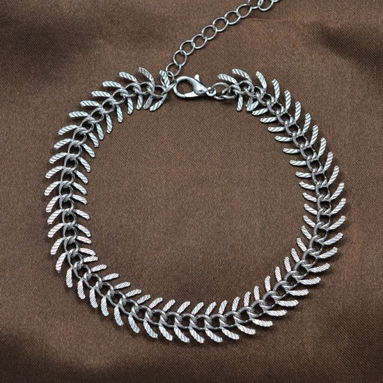 Gold Chain Link Anklet