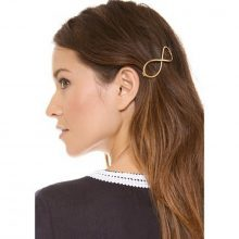 Gold Infinity Hair Clip
