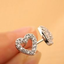 Cute and Classic Heart Earrings