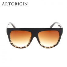Retro Flat Top Sunglasses
