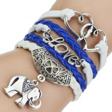 Trendy Multilayer leather bracelet