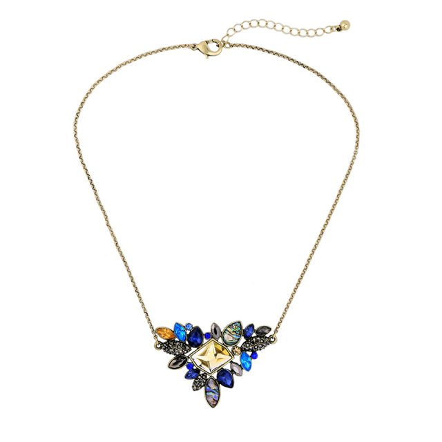 Rhinestone Pendant Necklace