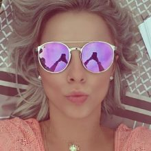 SUS Round Mirrored Sunglasses