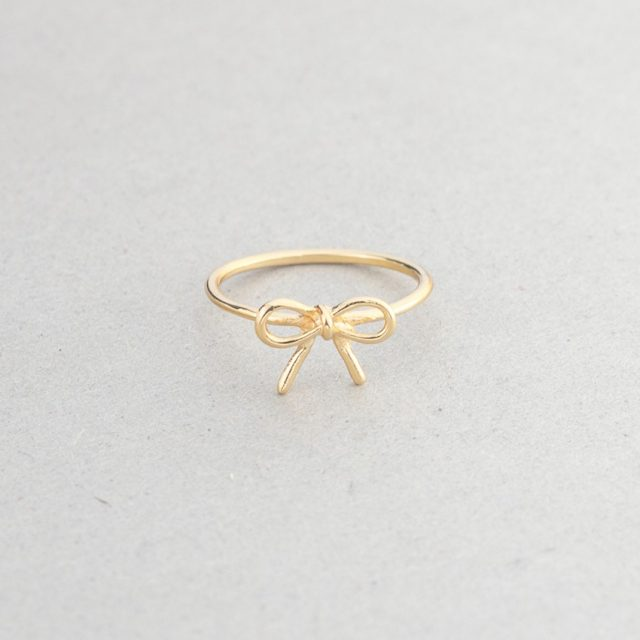 Adjustable Tie the knot ring
