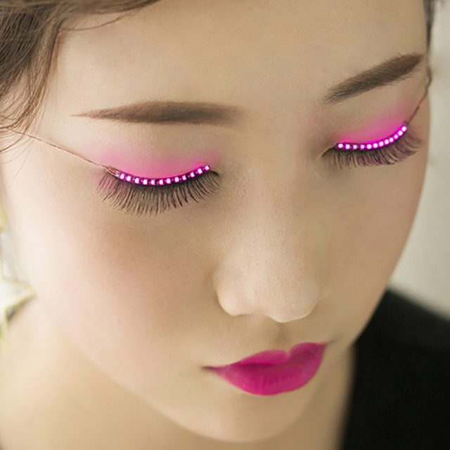 LED Eyelashes Great For Party And Halloween