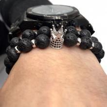 Imperial Crown And Helmet Charm Bracelets