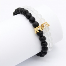 Set Crown His and Her Lovers Distance Bracelets